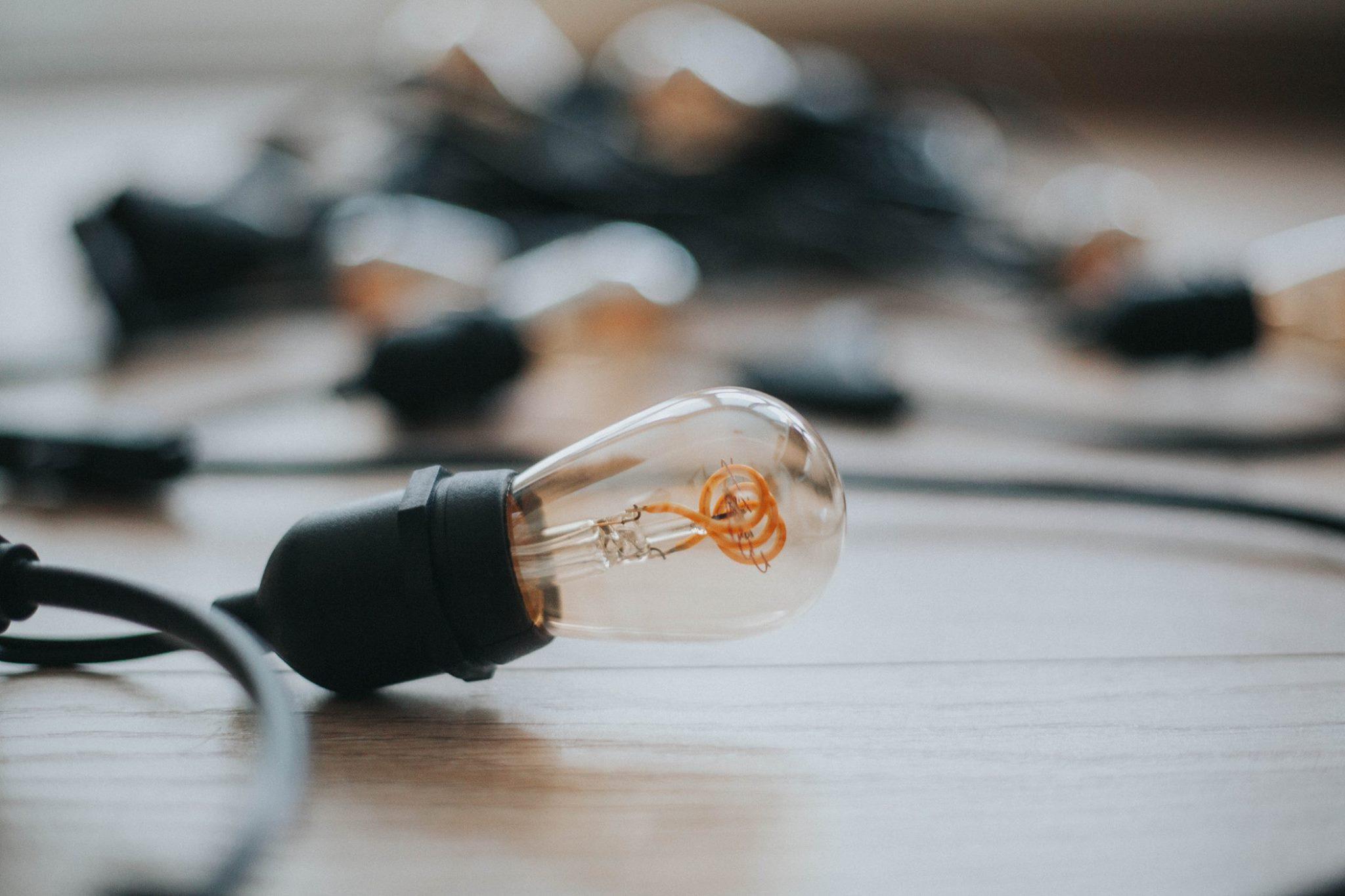 girlanda ogrodowa żarówki LED
