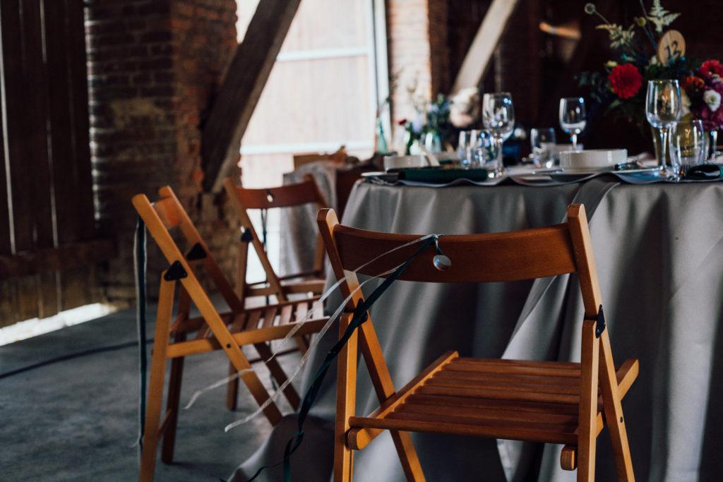 rustykalne wesele w stodole