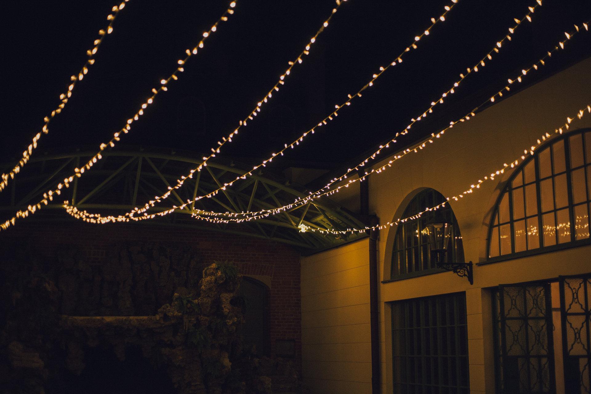 światełka na wesele pałac goetz