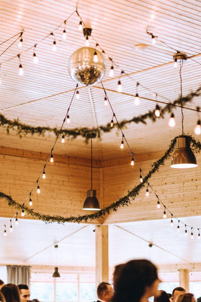 rustykalne wesele, dekoracje