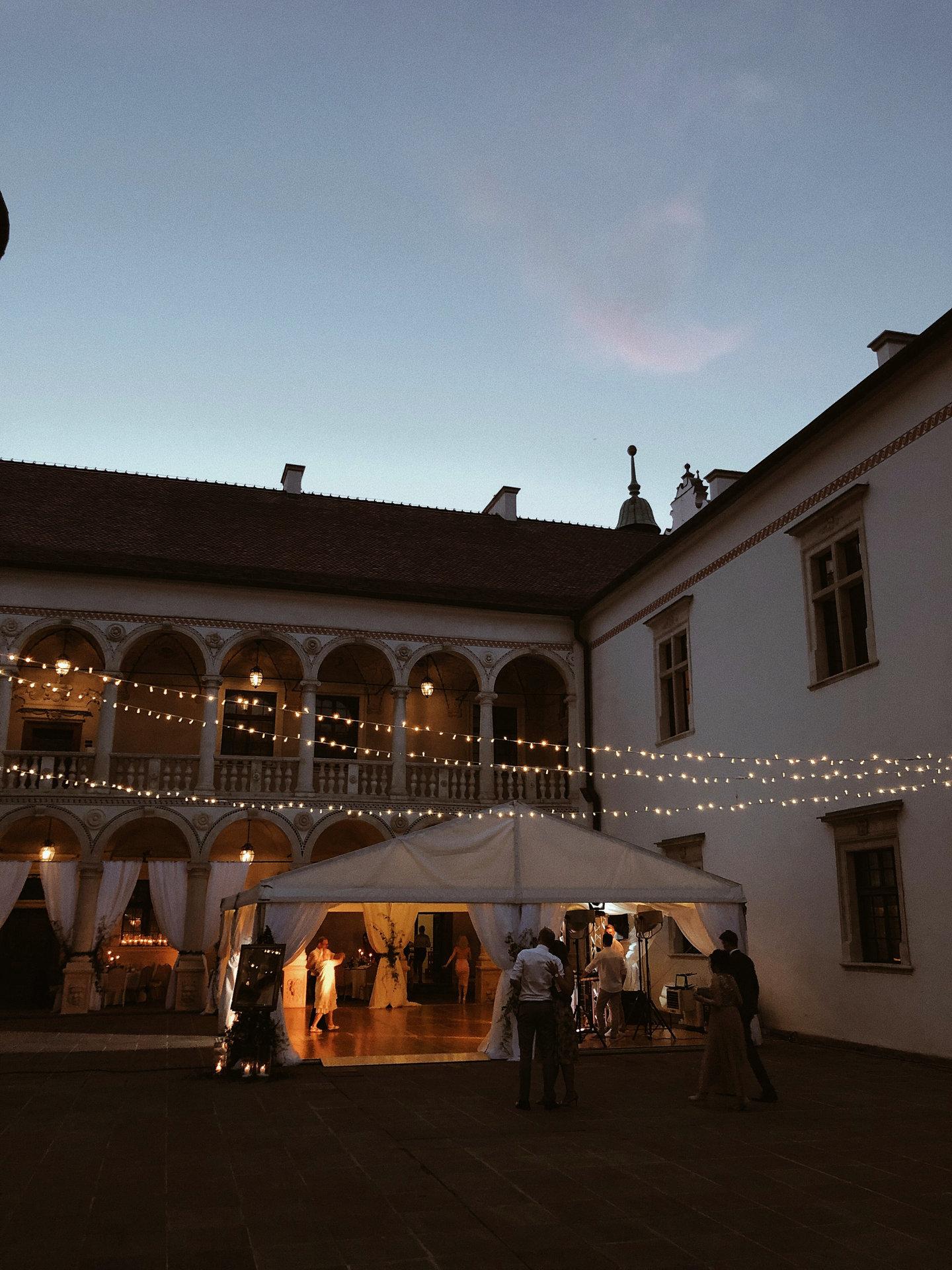 Wynajem światełek fairy lights na wesele, Baranów Sandomierski