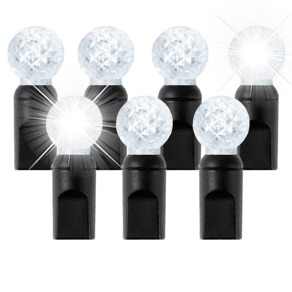 światełka choinkowe led model g12 ciepły biały, efekt twinkle