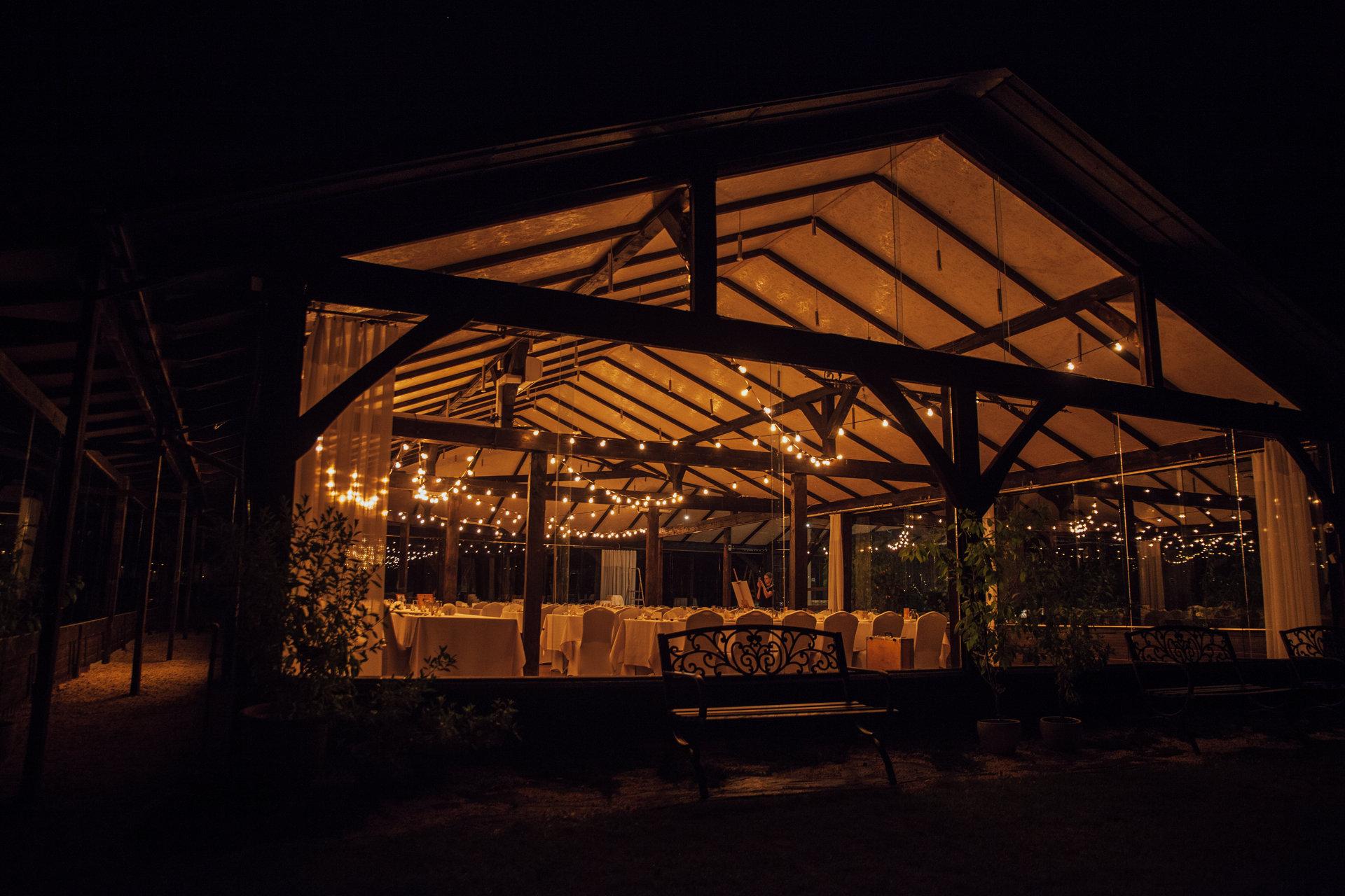 wesele w stodole, szklana stodoła