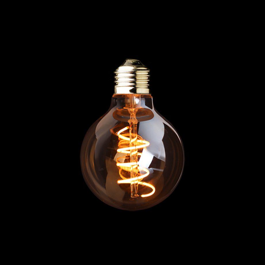żarówka LED odzobna Edison G80GS