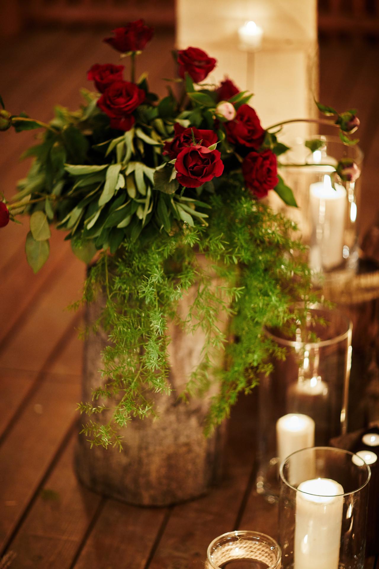 kwiaty na ślub w plenerze
