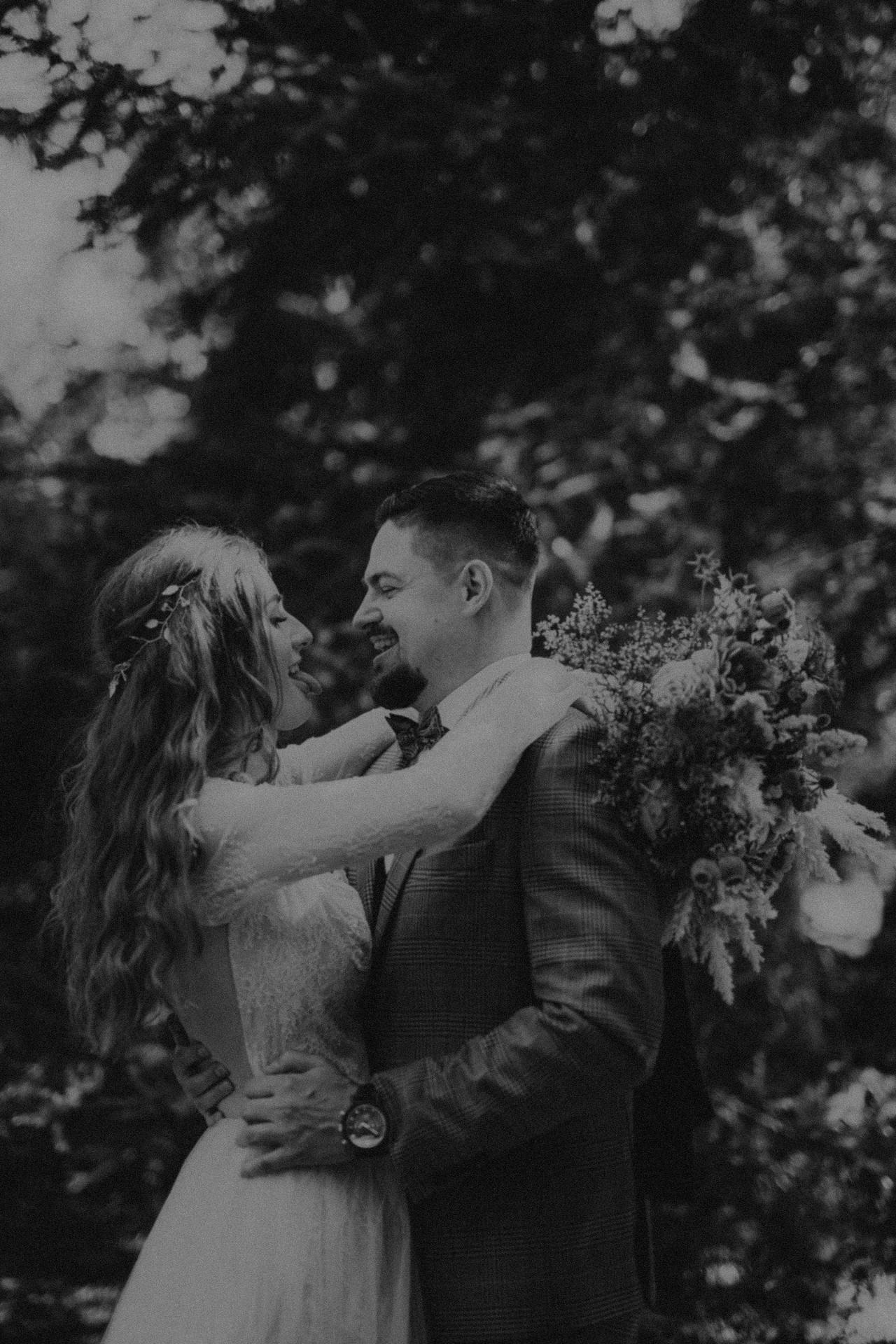 sesja ślubna w plenerze, hippie
