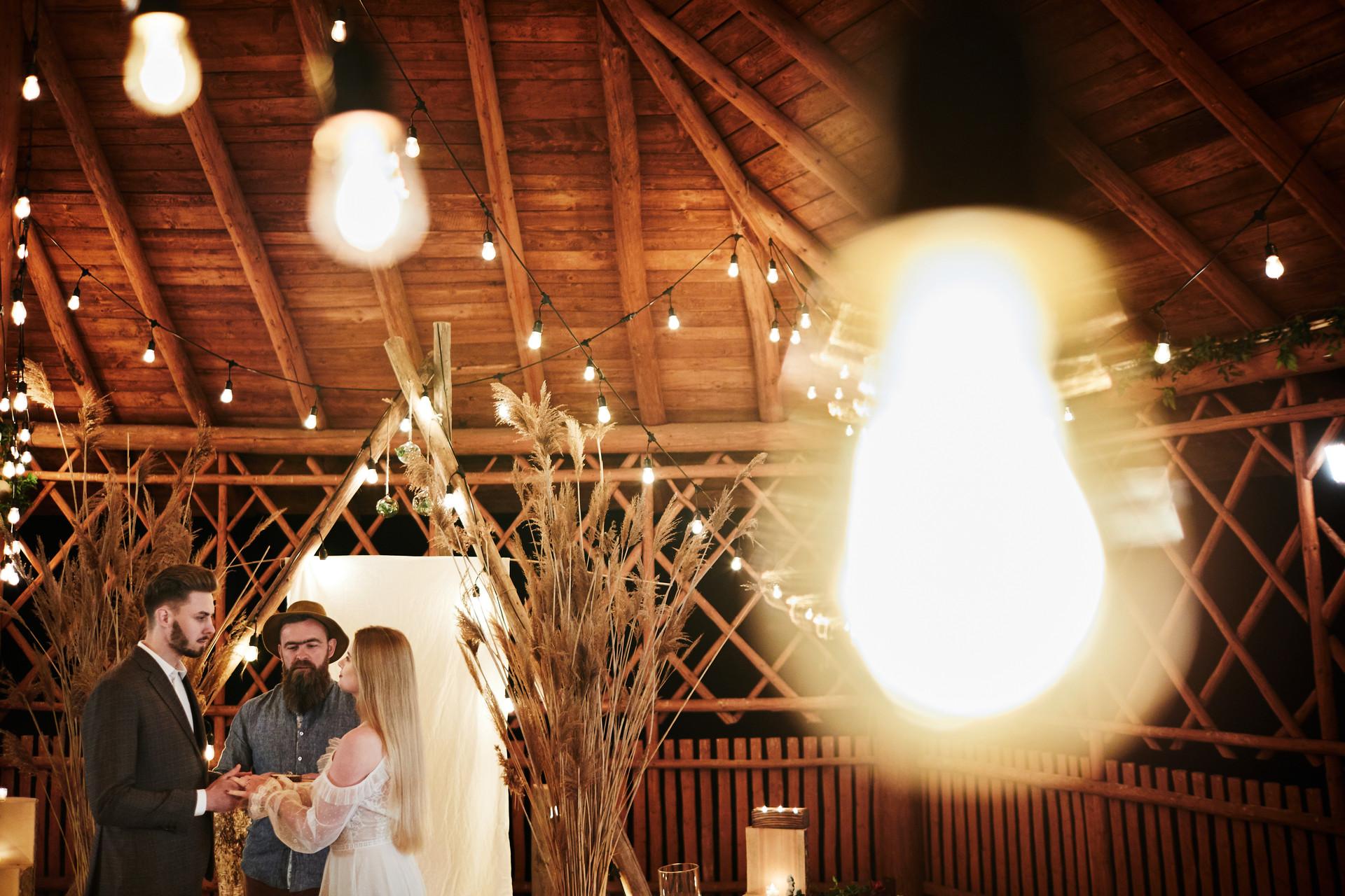 ślub humanistyczny, bieszczady, dekoracja