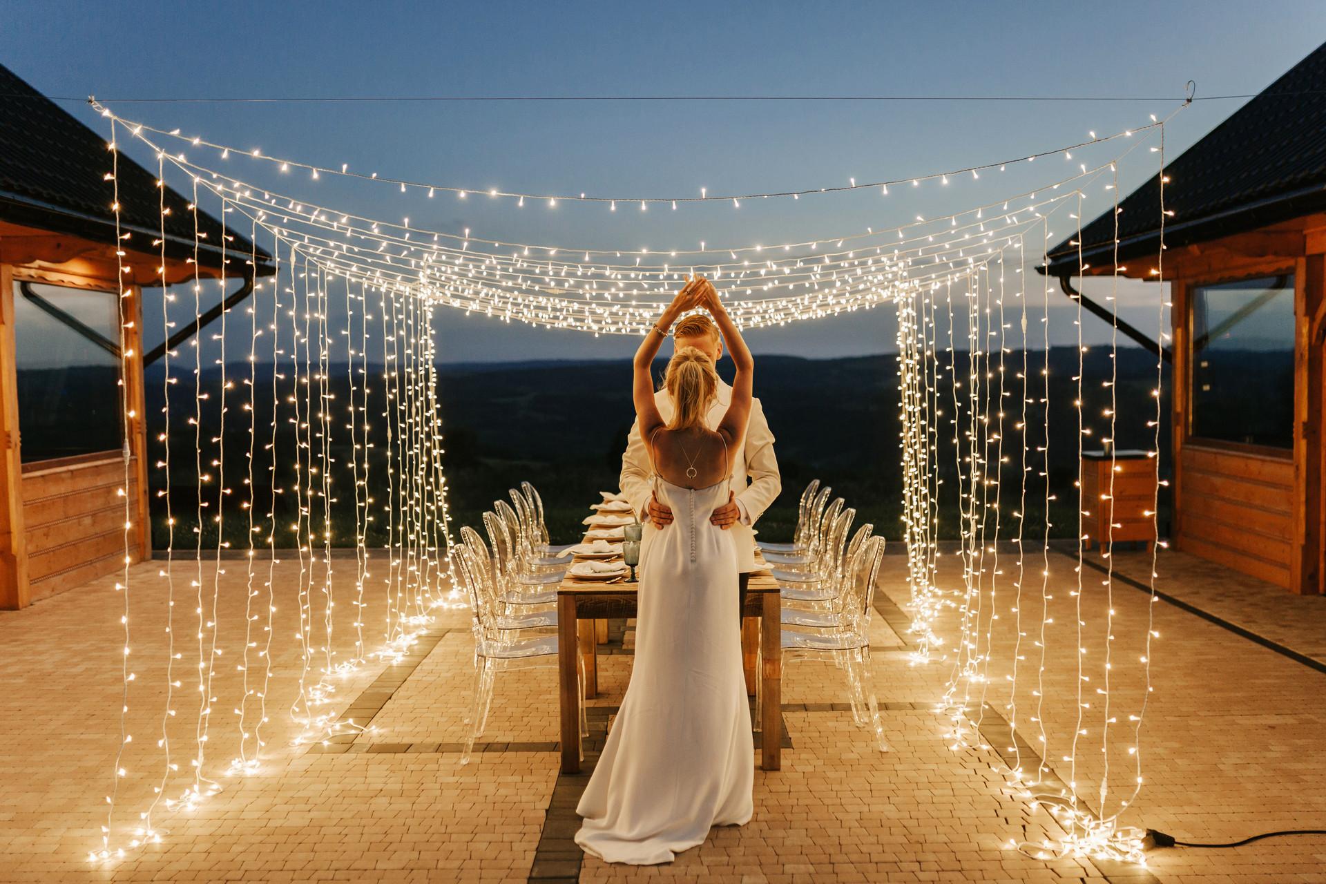 ślub humanistyczny w stylu glamour
