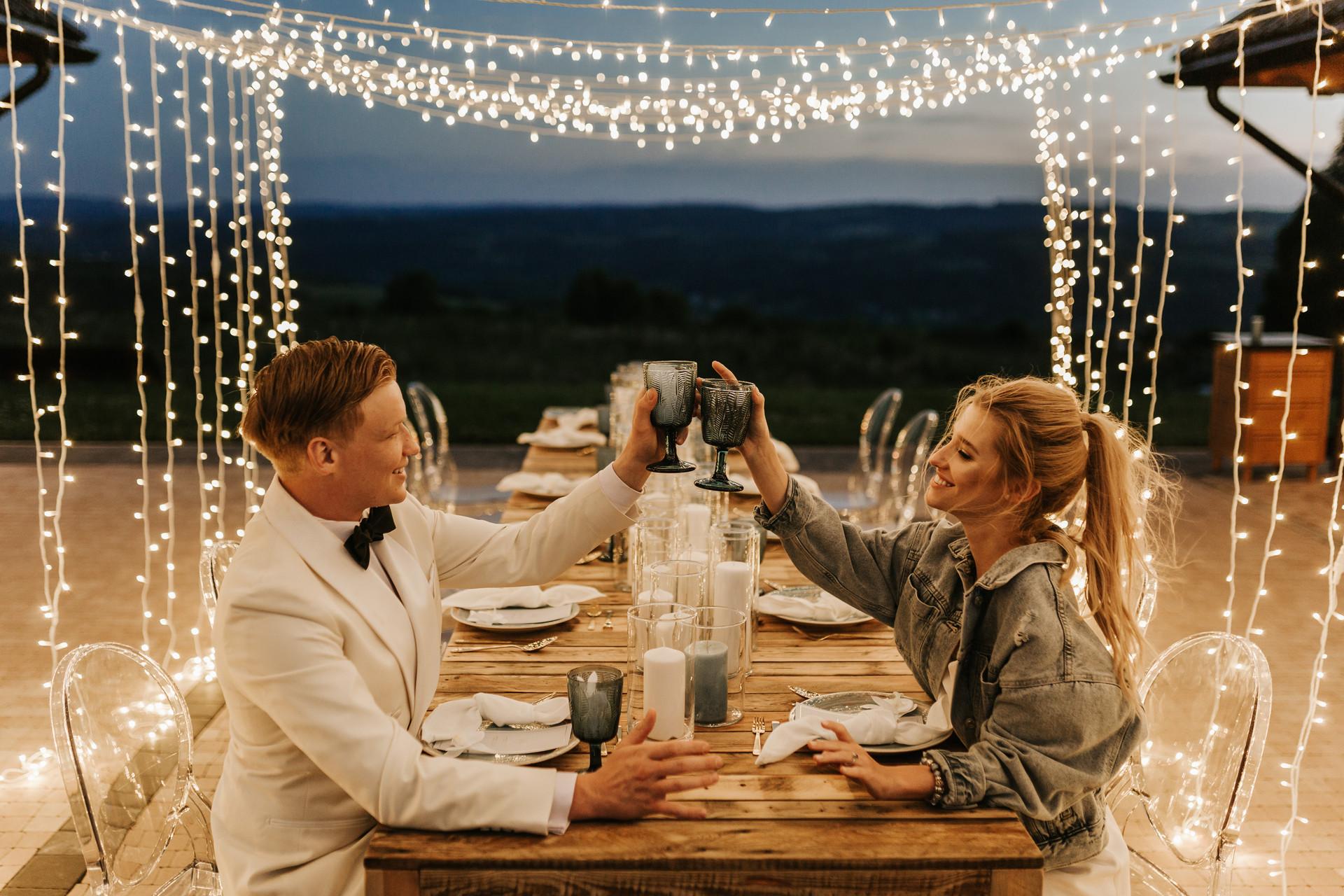 wesele w plenerze, solankowe zacisze