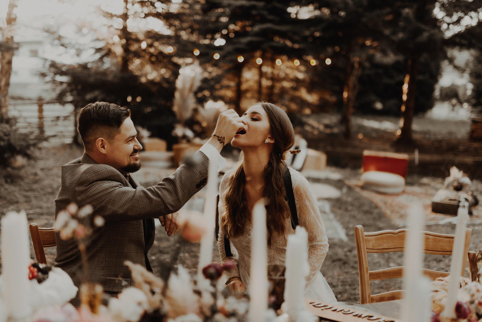 wesele w stylu hippie