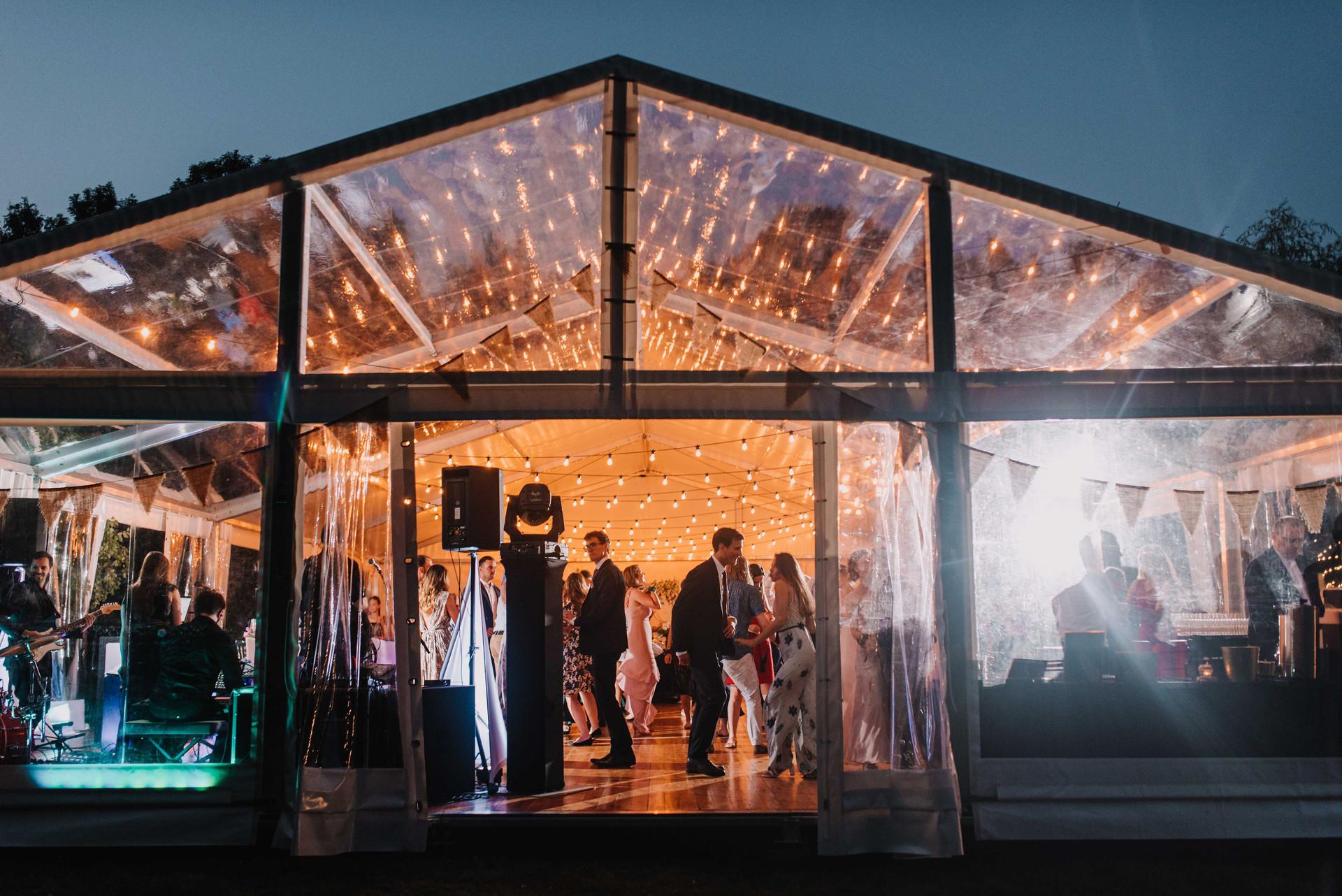 kraków, wesele w namiocie