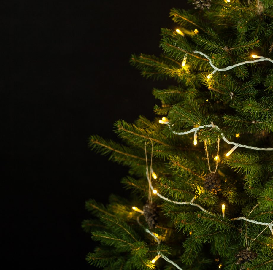 lampki choinkowe, lampki świąteczne, zewnętrzne