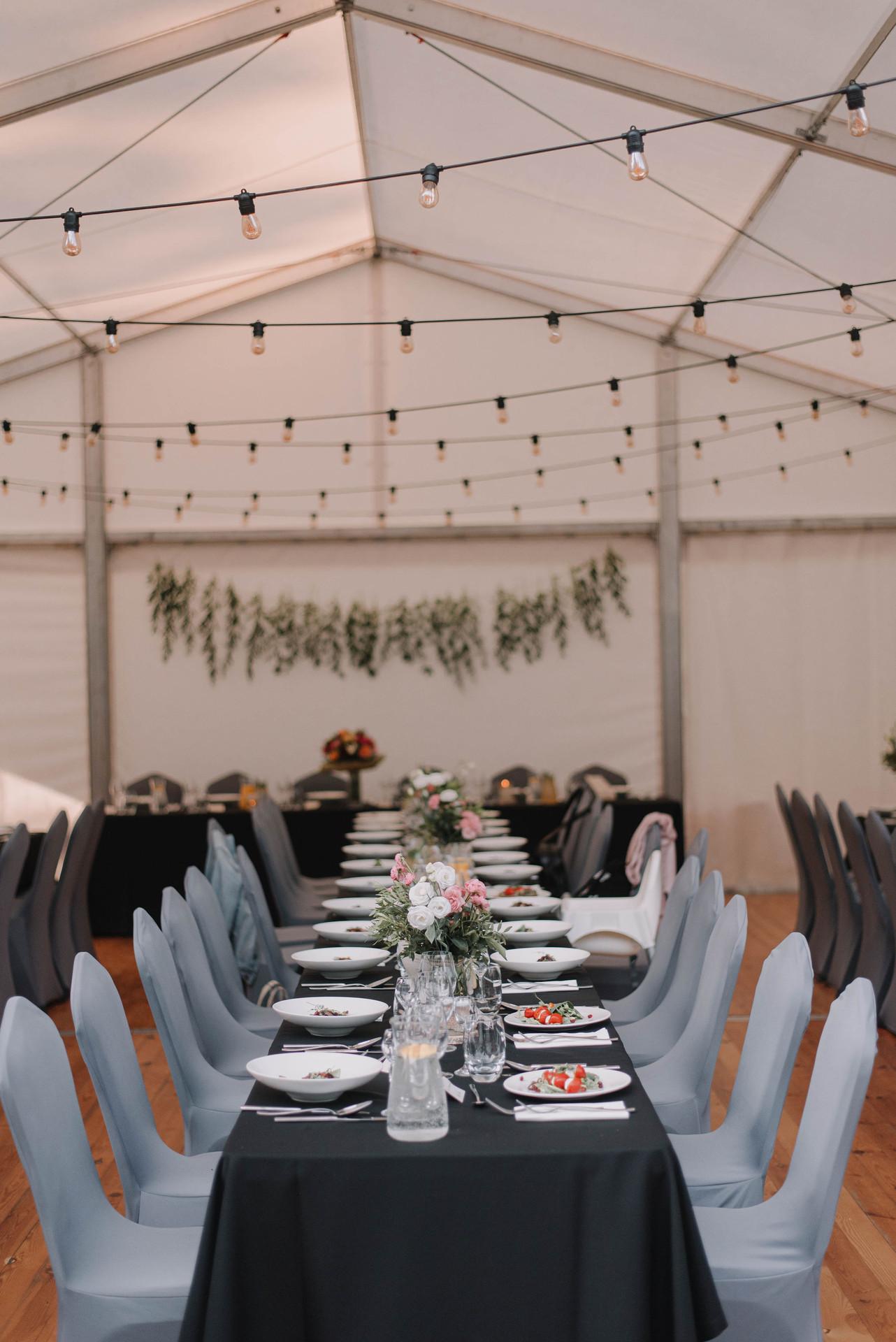 wesele w namiocie