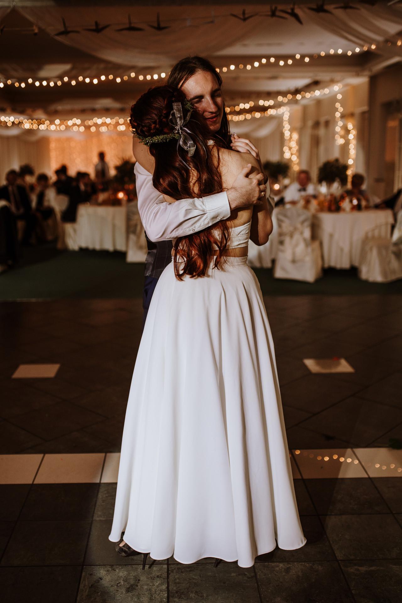 światełka fairy lights na wesele