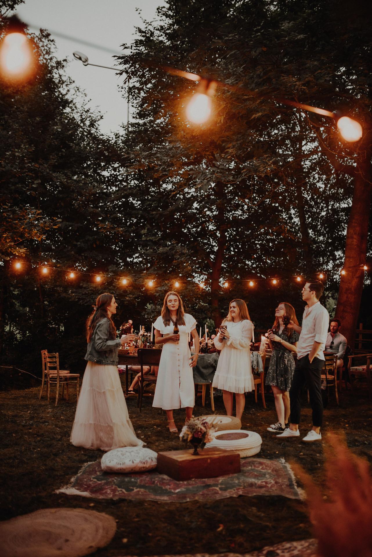 strefa chill, wesele w plenerze