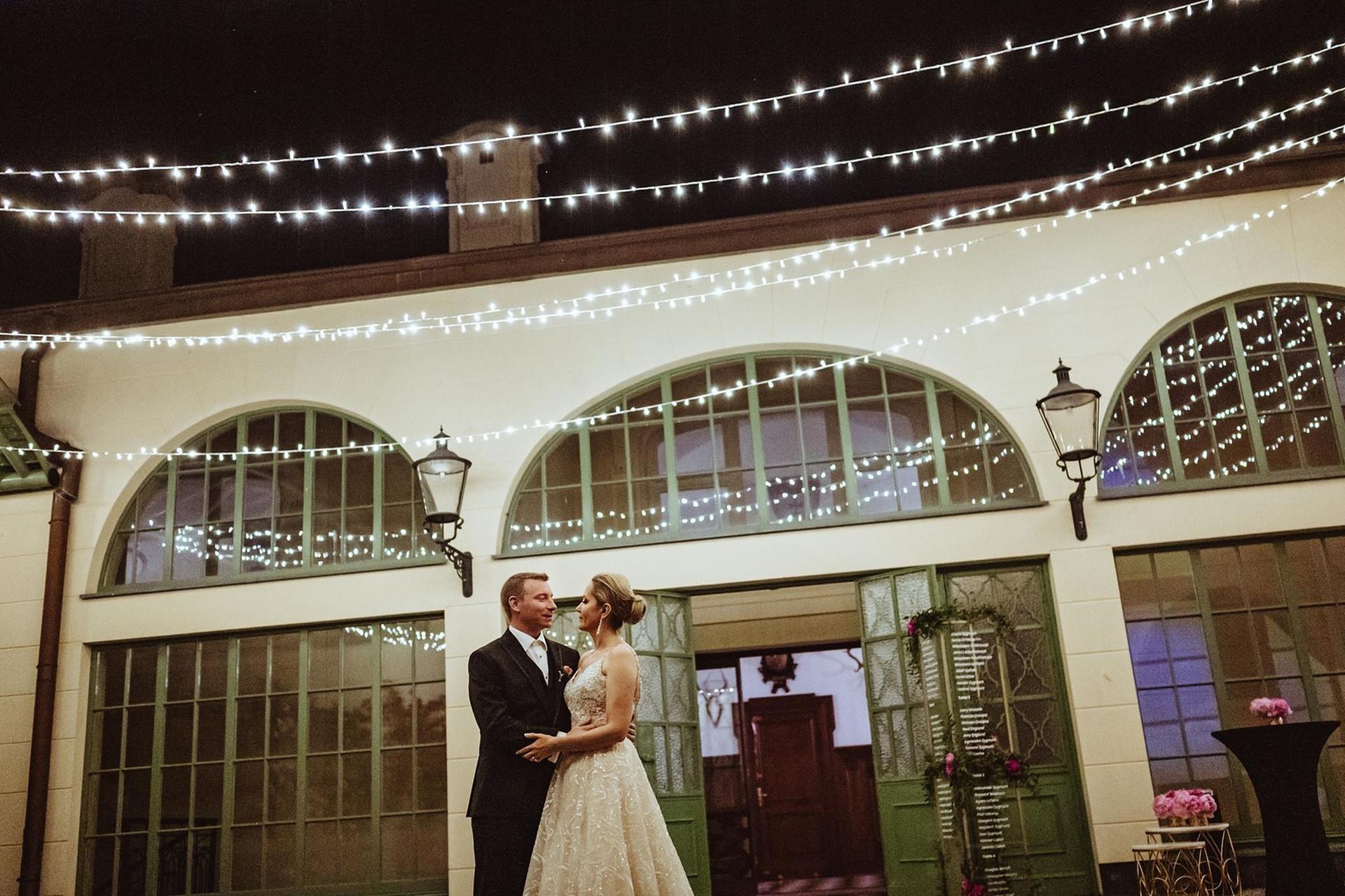 światełka fairy lights pałac goetz