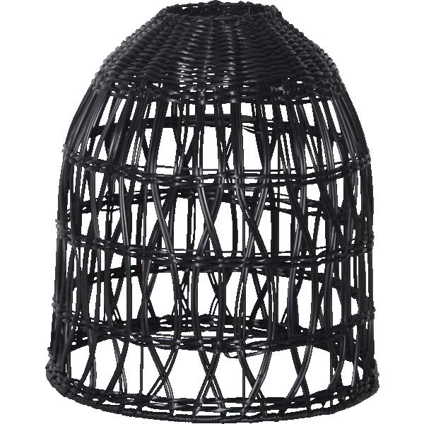 lampa ogrodowa rattanowa