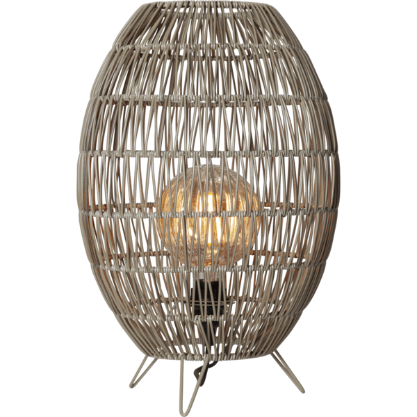 lampa ogrodowa technorattan