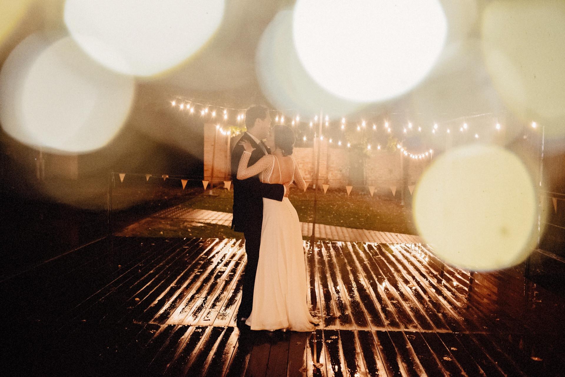 oświetlenie na wesele, girlandowo