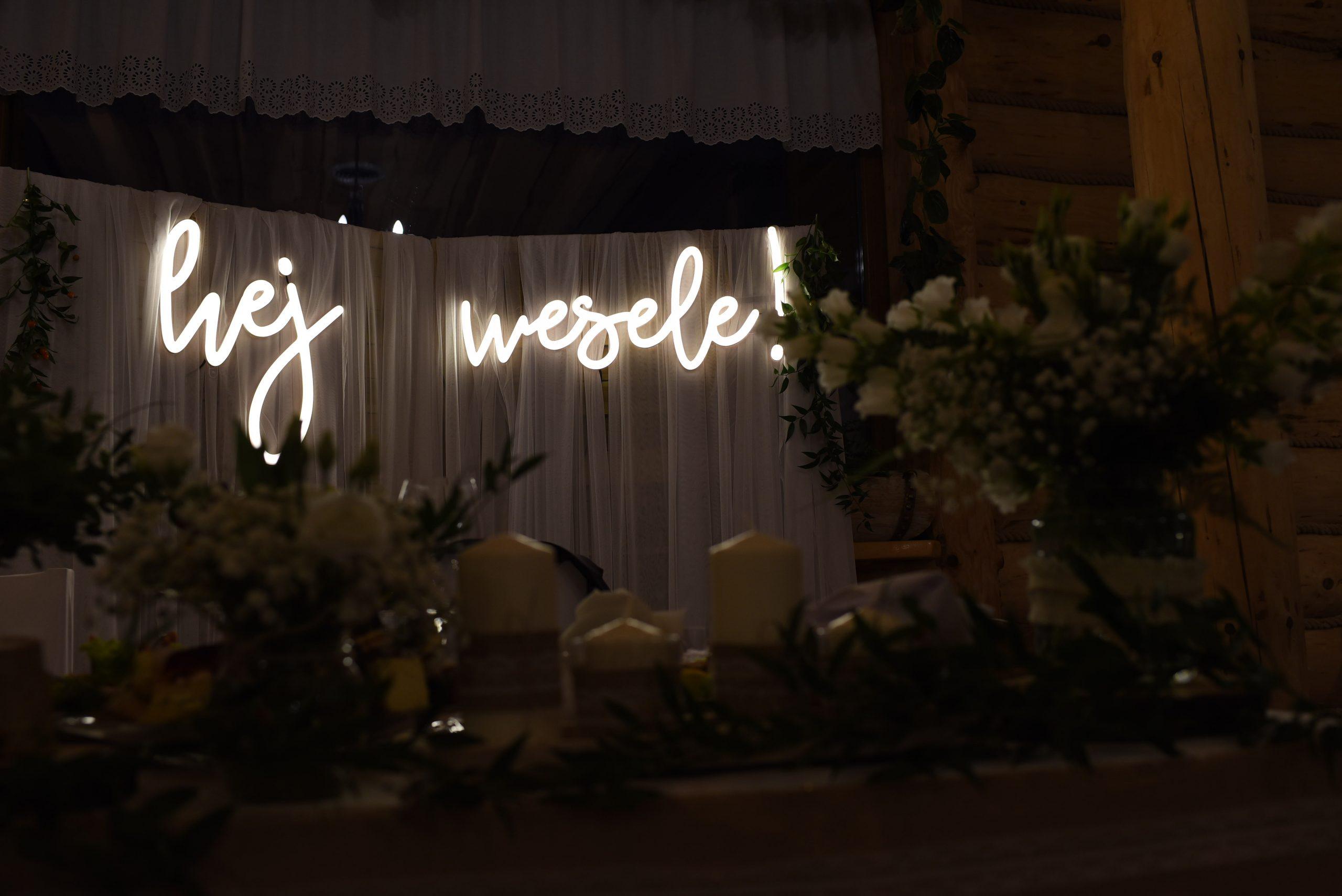 ledon na wesele